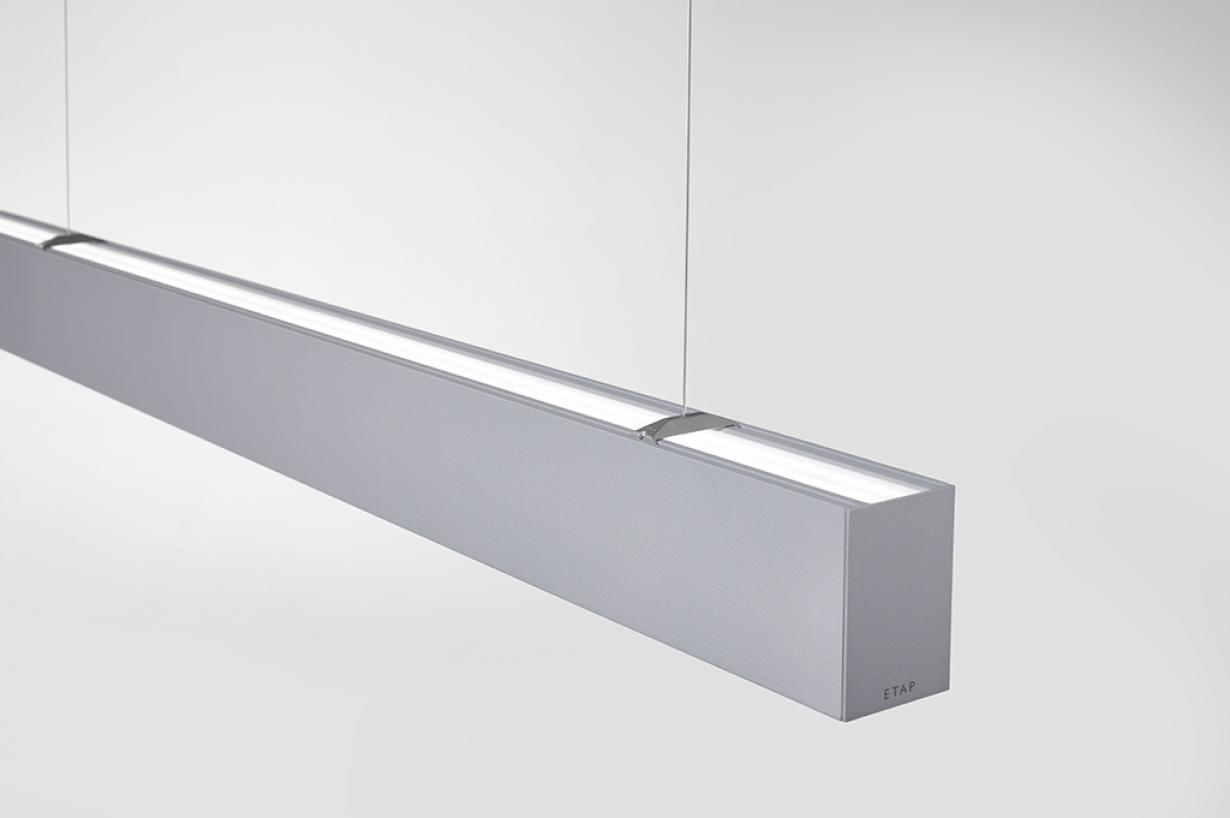 ETAP Ley - Up-light continu, plafonds uniformément éclairés