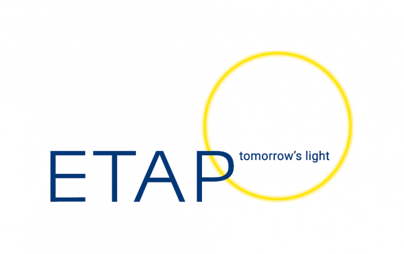 ETAP tomorrow's light logo