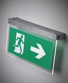 ETAP emergency lighting K9 signage pictogram ISO