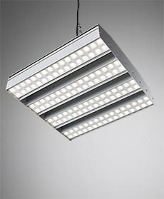 E8 LED luminaire for high ceilings
