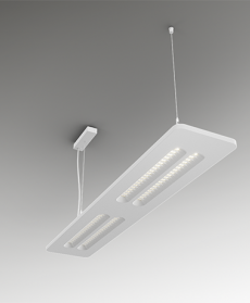 Surface mounted & suspended luminaires