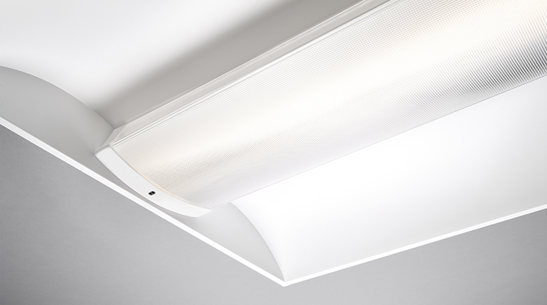 US luminaire with ELS daylight sensor