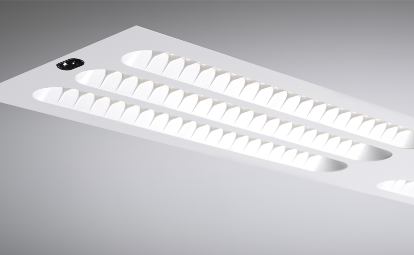 ETAP U3 long luminaire with 6 units with EMD-sensor